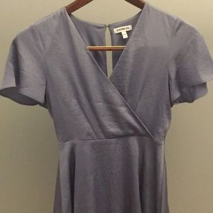 Periwinkle midi dress